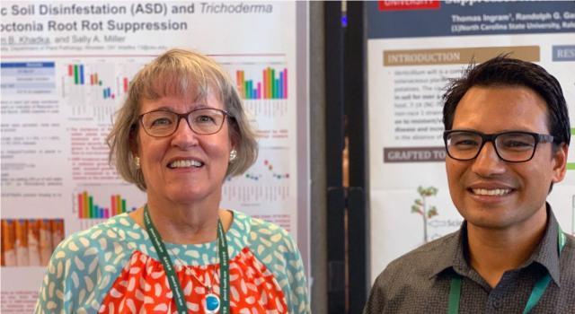 Drs. Sally Miller and Ram Khadka