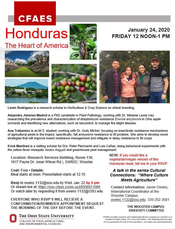 Honduras Flyer