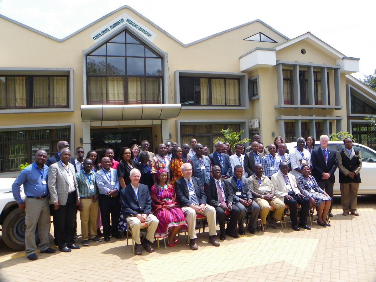 African Deans and Faculty Participants in the Conference