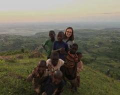 Taylor Klass in Uganda